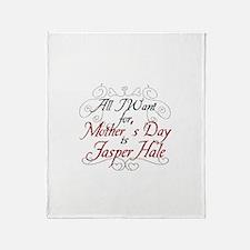 Mother's Day Jasper Throw Blanket