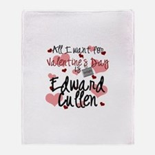 Valentine Edward Throw Blanket