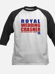 Royal Wedding Crasher Kids Baseball Jersey