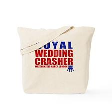 Royal Wedding Crasher Tote Bag