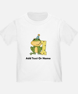 Custom Frog 1st Birthday T