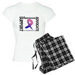Cure Male Breast Cancer Women's Light Pajamas