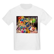 Competitive Sports Collage T-Shirt