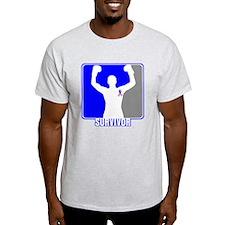Survivor Male Breast Cancer T-Shirt