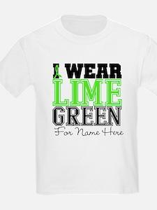 Custom Lymphoma I Wear T-Shirt