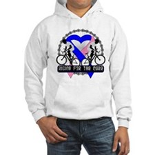 Male Breast Cancer Ride Hoodie