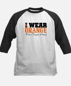 Custom I Wear Leukemia Tee