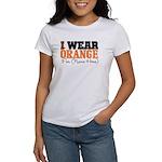 Custom I Wear Leukemia Women's T-Shirt