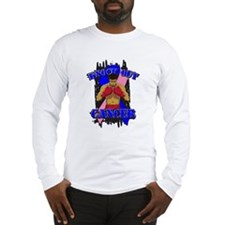 Knock Out Male Breast Cancer Long Sleeve T-Shirt