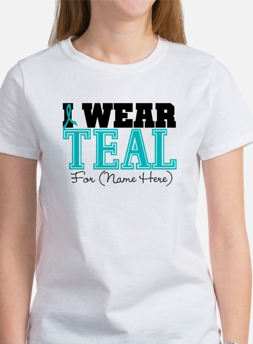 Ovarian cancer gifts merchandise ovarian cancer gift for Ovarian cancer awareness t shirts