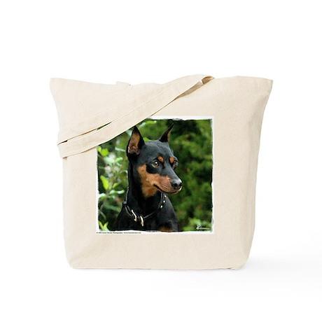 Min Pin Artwork Tote Bag