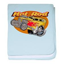 Cute Hot rod baby blanket