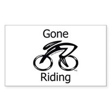 Gone Riding Decal