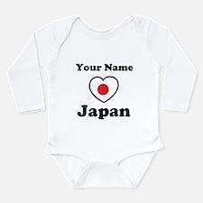 Personal Japan Long Sleeve Infant Bodysuit