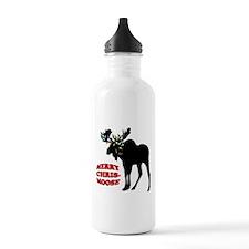 Merry Chrismoose Water Bottle