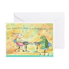 Finish the Race Greeting Cards (Pk of 10)
