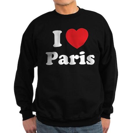 I love Paris Sweatshirt (dark)