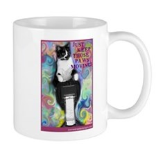 Keep Those Paws Moving! Coffee Mug