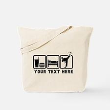 EAT-SLEEP-TKD Tote Bag