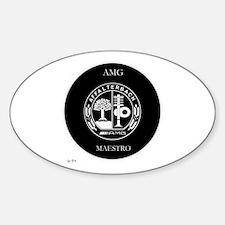 AMG Maestro Sticker (Oval)