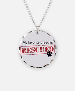 Favorite Breed Is Rescued Necklace