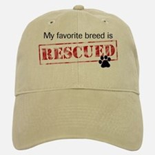 Favorite Breed Is Rescued Baseball Baseball Cap