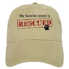 Favorite Breed Is Rescued Baseball Cap