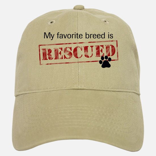 Favorite Breed Is Rescued Hat