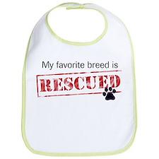 Favorite Breed Is Rescued Bib