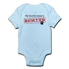 Favorite Breed Is Rescued Infant Bodysuit