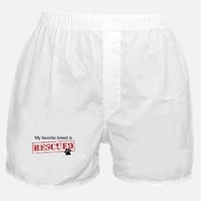 Favorite Breed Is Rescued Boxer Shorts