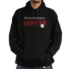 Favorite Breed Is Rescued Hoodie