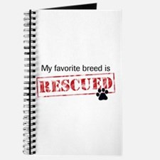 Favorite Breed Is Rescued Journal
