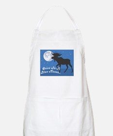 Once In A Blue Moose Apron