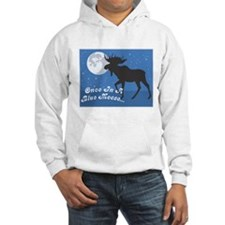 Once In A Blue Moose Hoodie