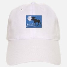 Once In A Blue Moose Baseball Baseball Cap