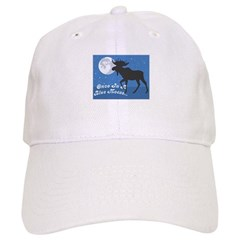 Once In A Blue Moose Baseball Cap