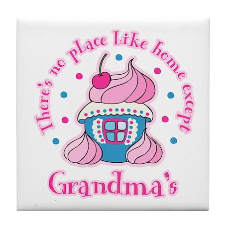 Home Like Grandma's Tile Coaster