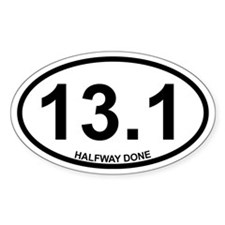 13.1 Halfway Done Decal