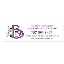 Blessed Birth Services Bumper Bumper Sticker