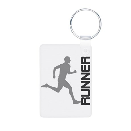 Runner Gifts and Apparel Aluminum Photo Keychain