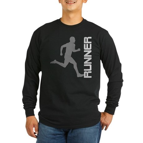 Runner Gifts and Apparel Long Sleeve Dark T-Shirt