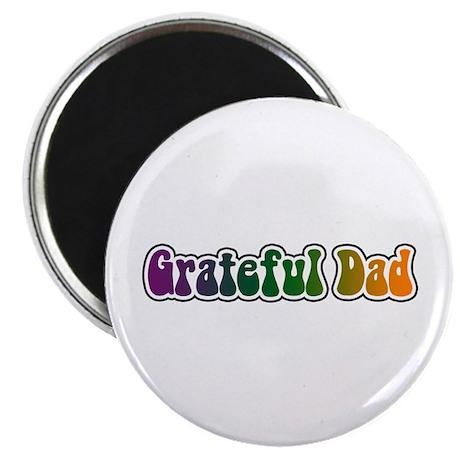 """Grateful Dad 2.25"""" Magnet (10 pack)"""
