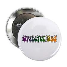 """Grateful Dad 2.25"""" Button"""