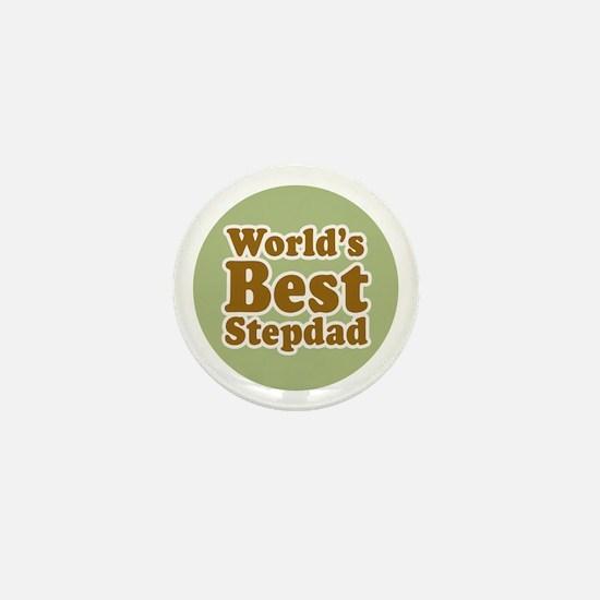 World's Best Stepdad Mini Button