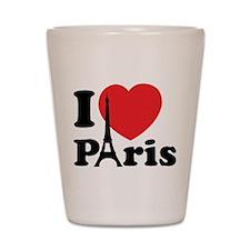 I love Paris Shot Glass