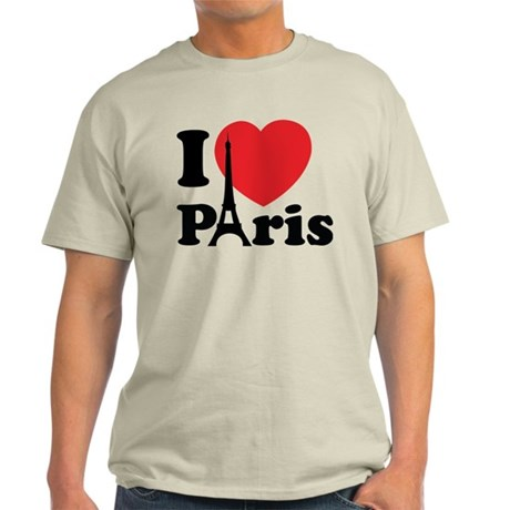 I love Paris Light T-Shirt
