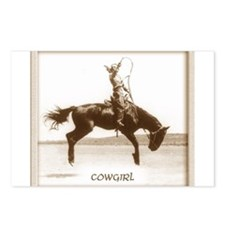 cowgirl (she is SO up!) Postcards (Package of 8)