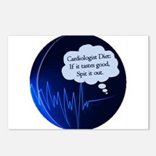 Cardiologist's Diet Postcards (Package of 8)