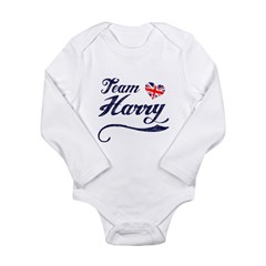 Team Harry Long Sleeve Infant Bodysuit